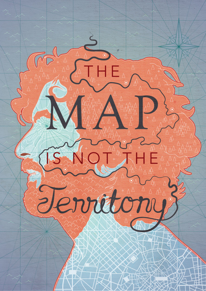 the map is not the territory undercurrent design