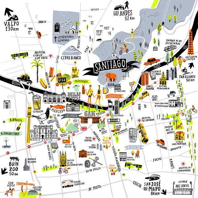 SANTIAGO MAP OYEMATHIAS
